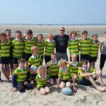 Jeugd The Hague Beach Rugby