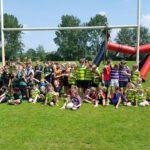 Highland Games voor de mini's, turven en benjamins