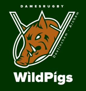 Logo Damesrugby WildPigs
